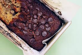 banana chocolate chip pound cake krafted by kelly