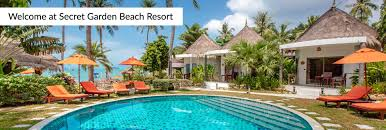secret garden beach resort restaurant and beach bar in koh samui