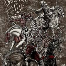 up four horsemen of the apocalypse t shirt