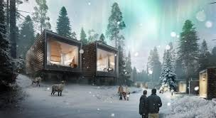 Treehouse Europe - wow arctic treehouse hotel u2014 laponie rovaniemi finlande