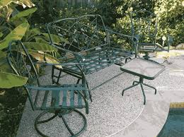 Best Way To Paint Metal Patio Furniture Quality Product Finishing Inc Will Refinish Your Outdoor Metal