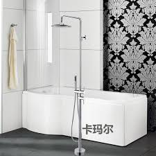 Bathtubs Faucets 2017 Luxury Round Spray Fixed Floor Stand Bathtubs Faucets Water