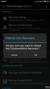 rom manager apk rom manager apk install and reboot recovery redmi note 4x