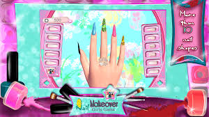 nail makeover u2013 girls game android apps on google play
