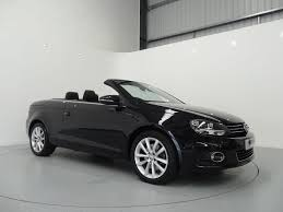 white convertible volkswagen volkswagen eos 1 4 tsi 160 se finished in deep black pearl with