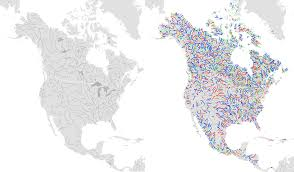 Rivers In Usa Map by Rivers Natural Earth Shapefile Download Shp Data
