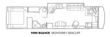 1999 beaver monterey seacliff u2013 stock c00080 the rv man