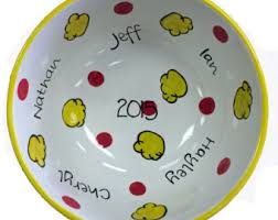 personalized bowl personalized bowl etsy