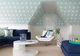 Living Room Beadboard Walls Design Ideas - Wallpaper for family room