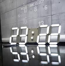 big digital wall clock photo u2013 wall clocks