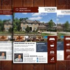 ready made real estate flyer template remax style free http