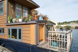 tiny houses on airbnb right on rutabaga houseboat houses for rent in seattle