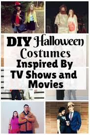diy halloween costumes inspired by tv shows and movies the