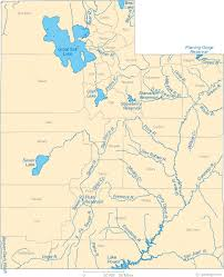 world rivers map map of utah lakes streams and rivers