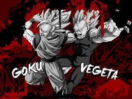 wallpaper goku vegeta dony910 deviantart