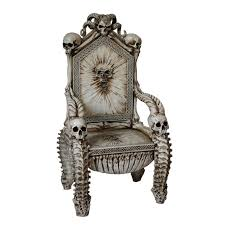 Throne Style Chair Throne Of Death Underworld Chair The Luciferian Apotheca Your
