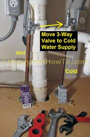how to install a kitchen instant hot water dispenser faucet and instant hot water dispenser installation new 3 way 1 4 turn stop valves