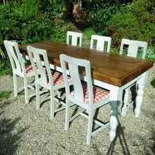 farmhouse dining table and 6 chairs farmhouse dining table 6