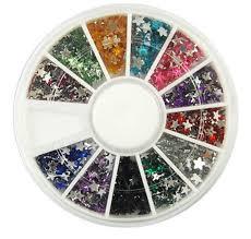 1 sets predilection popular 3d acrylic nail art wheel tools kit