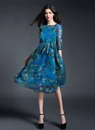 chiffon dress floral print slim chiffon dress oasap