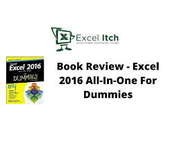 Help Desk For Dummies Book Review Excel 2016 All In One For Dummies Excel Itch