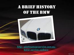 a brief history of the bmw authorstream