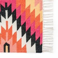 Modern Kilim Rugs Handmade Multi Coloured Kilim Rugs Handwoven Geometric Pattern Rug
