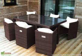 canapé jardin résine table de jardin resine salon de jardin bas maisonjoffrois