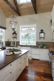 Kitchen No Cabinets Love The Look Of A Kitchen Without Upper Cabinets Lots Of Storage