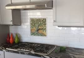 mini subway tile kitchen backsplash unique subway tile backsplash with grey textured countertop for