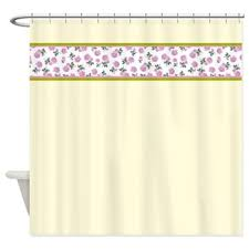 shabby chic shower curtain oh so girly