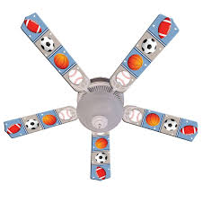 Sports Ceiling Light Ceiling Fan Designers Soccer Football Baseball Sports Indoor