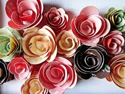 Handmade Flowers Paper - 136 best paper flowers images on pinterest flowers paper and