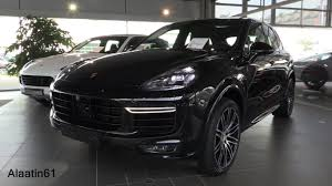 porsche suv 2017 porsche cayenne turbo s 2017 start up in depth review interior