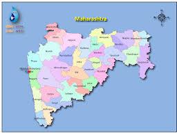 Gujarat India Map by Maharashtra