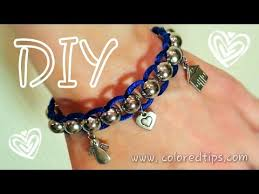 cord bracelet with beads images Diy beads and cord bracelet easy and awesome diy bracelet lazy jpg