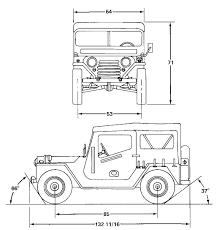 army jeep drawing warwheels net m151a1 mutt 1 4 ton 4x4 utlity truck index
