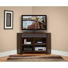 furniture spacious corner unit tv stands design nu decoration