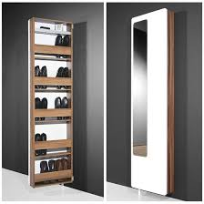 rotating storage cabinet with mirror white hi gloss rotating shoe storage with mirror 1186 94 houses