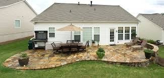 Simple Brick Patio With Circle Paver Kit Patio Designs And Ideas by Patio Ideas Patio Landscape Ideas Landscaping For Backyard