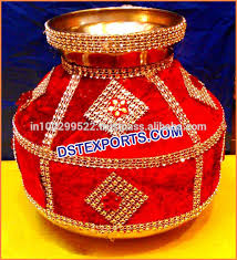 indian wedding decoration accessories pots for decoration wedding decor