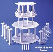 cake pillars product detail swan pillar sets 8 rd ultra