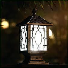 Outdoor Solar Post Light Fixtures Led Post L Led Outdoor L Post Light Led 3 Light Outdoor L