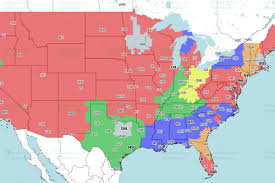 Jacksonville Fl Map Jaguars Vs Jets Week 4 Tv Viewing Map On Cbs Big Cat Country