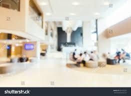 abstract blur defocused luxury hotel interior stock photo