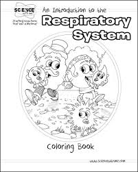 respiratory system coloring page many interesting cliparts