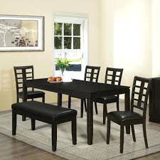 dining room sets with benches painted wooden dining set u2013 apoemforeveryday com