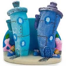 aquarium ornament bottom home spongebob squarepants fish tank