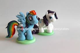 my little pony cake toppers cake by zoe u0027s fancy cakes cakesdecor