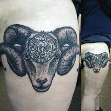 aries tiger tattoo pictures to pin on pinterest tattooskid